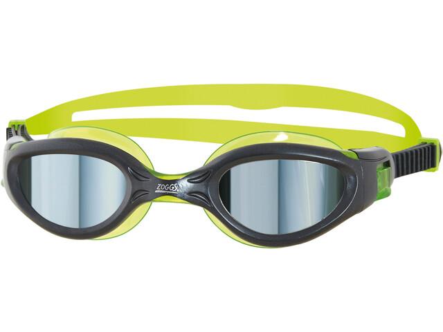 Zoggs Phantom Elite Mirror Gafas Natación Niños, verde/negro